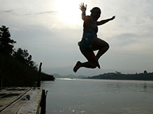 Leaping Lake Bunyonyi