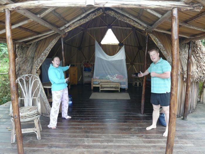Uganda Lake Bunyonyi Booga Geo Dome