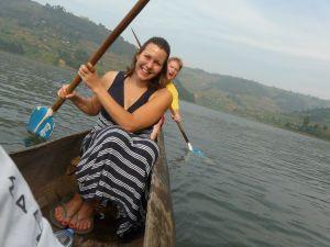 Uganda Lake Bunyonyi Canoeing