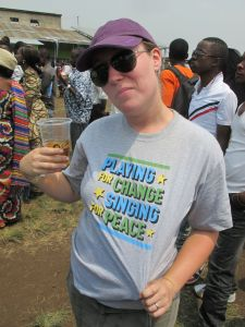 Gat the Amani T-Shirt Goma Democratic Republic of Congo