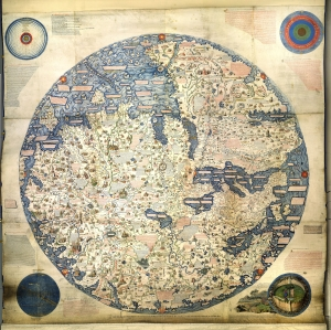 Fra Mauro Map of the World - AD 1450 - (26MB)