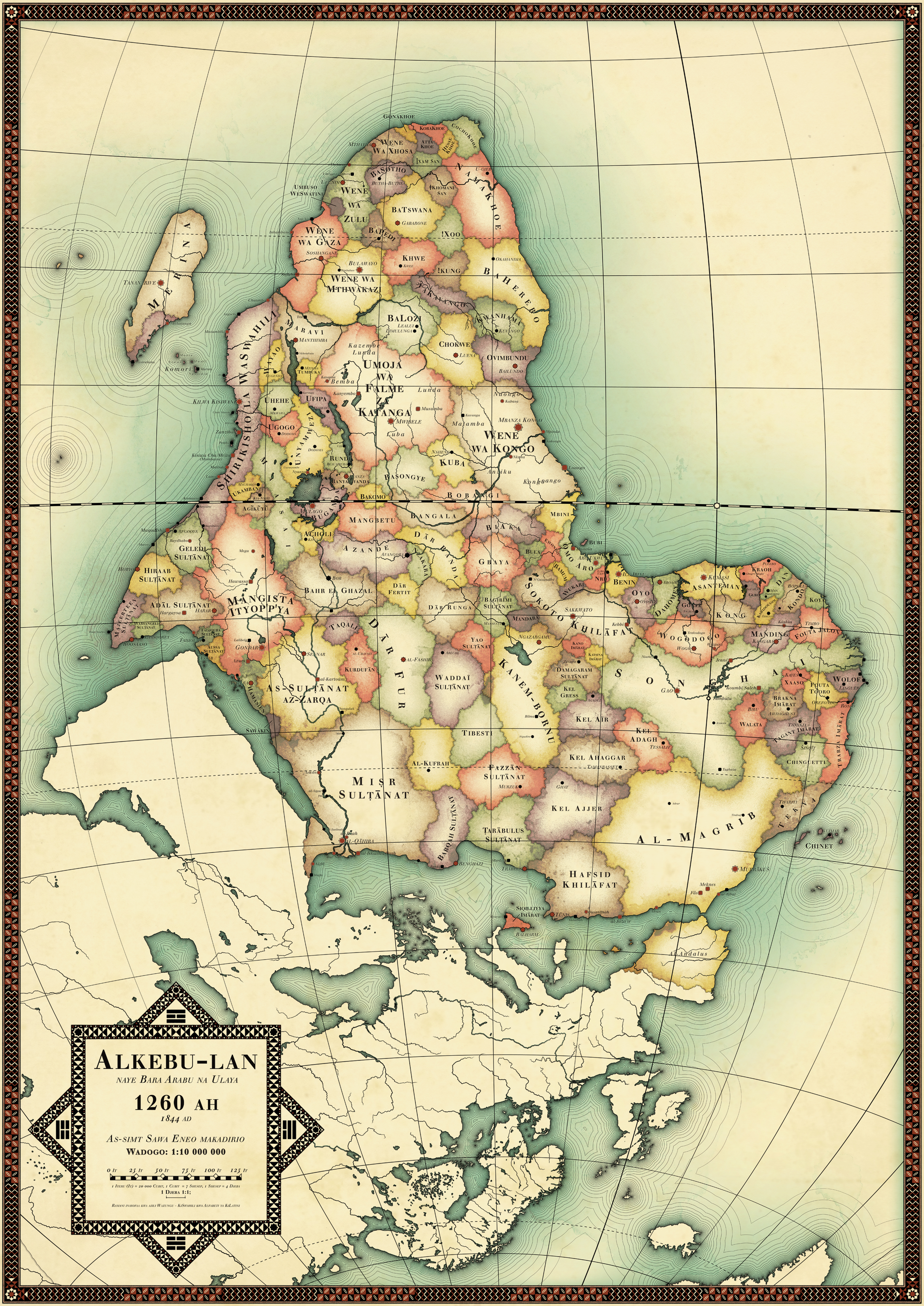 Mapping Africa Expat East Africa