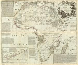 S. Boulton's map of Africa - AD 1787 - (10MB)