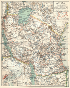 German East Africa - 1905 - (3MB)