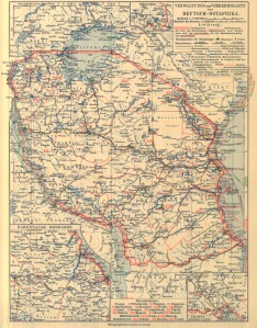 German East African Administrative Districts - (2MB)