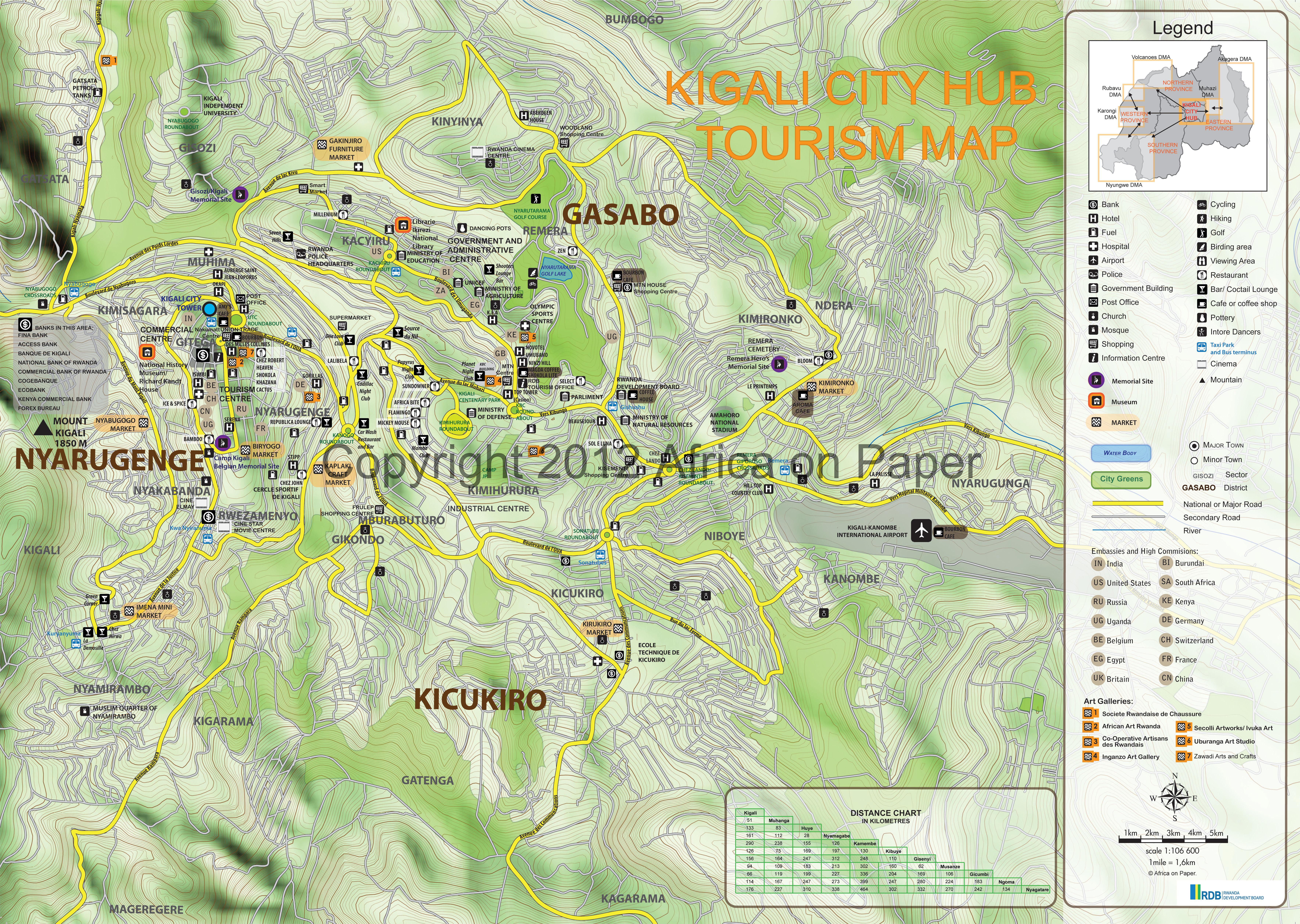 Mapping Rwanda Expat East Africa
