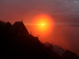 DRC Volcano Nyiragongo Sunrise