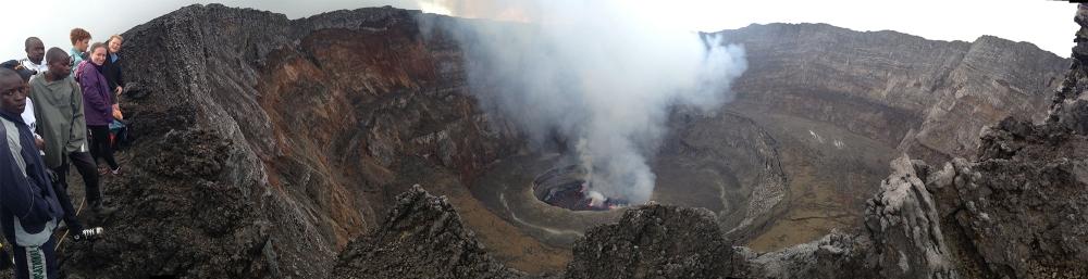 Nyiragongo Panorama