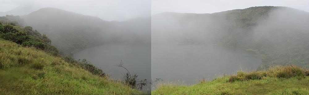 Volcano Bisoke Crater Rwanda